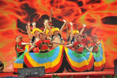 舞蹈《七月火把节》(云南公司)